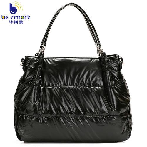 2016 factory direct sale fashion space bag women's handbag 4 colorway down bag B218(China (Mainland))