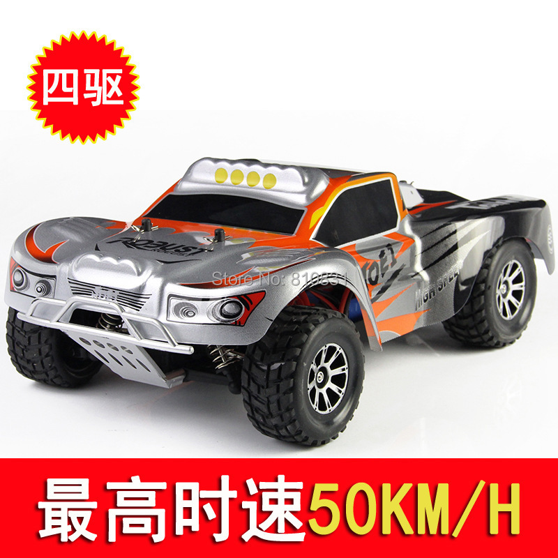 Фотография 45 km high-speed off-road A969 Weili 1:18 2.4G remote control car racing speed four-wheel drive  athletics