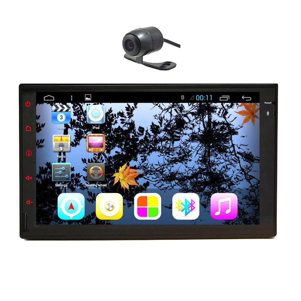 7inch Pure Android 4.2 Double 2Din In Dash Car PC NO DVD Player GPS Navigation Car Stereo Radio MP3+3G Wifi iPod car Headunit(China (Mainland))