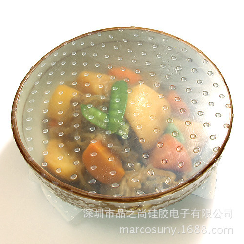 Food wrap film Health and Safety Plastic wrap Silicone plastic wrap Reusable(China (Mainland))
