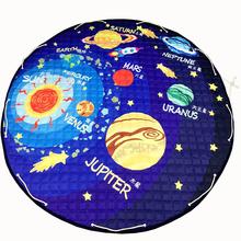 Papa&Mima Planet Toy Storage Bag diameter 1.5m baby Crawling multifunctional round blanket Play Rug/Mat/Carpet(China (Mainland))