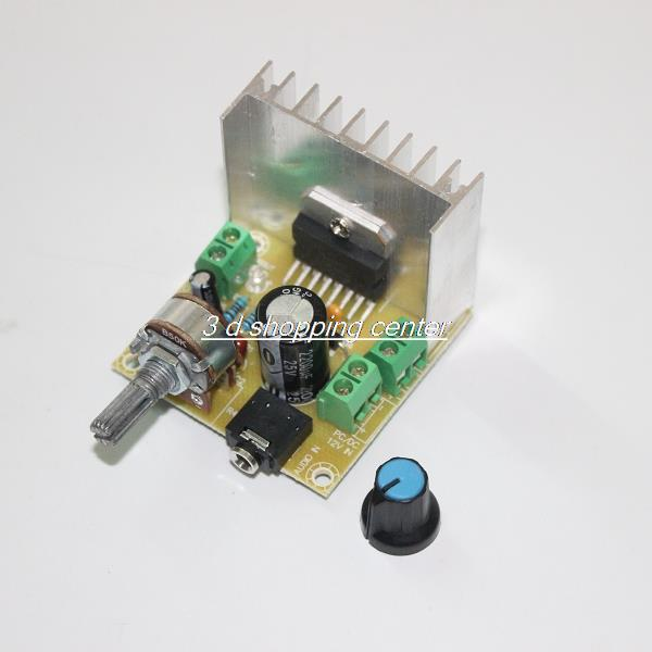 High Quality TDA7297 Version B 2*15W Digital For Audio Amplifier Board Dual-Channel AC/DC 12V Free Shipping(China (Mainland))