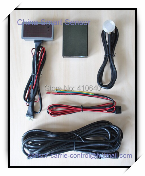 Ultrasonic Fuel Level Sensor With Display For Water/ Diesel/Petro/Palm Oil(China (Mainland))