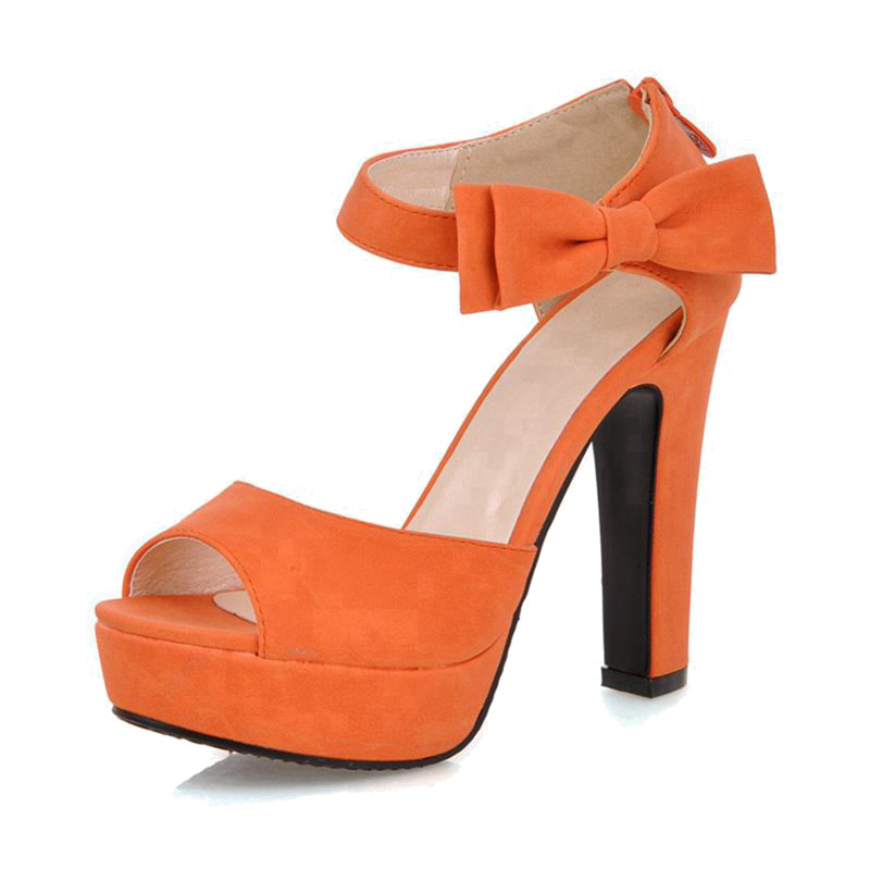 Online Get Cheap Orange High Heels Shoes -Aliexpress.com | Alibaba ...