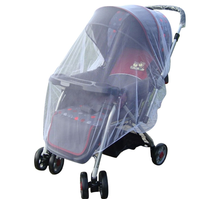 Hot Baby Infant Kids Stroller Pushchair Outdoor Mosquito Insect Net Mesh Buggy Cover