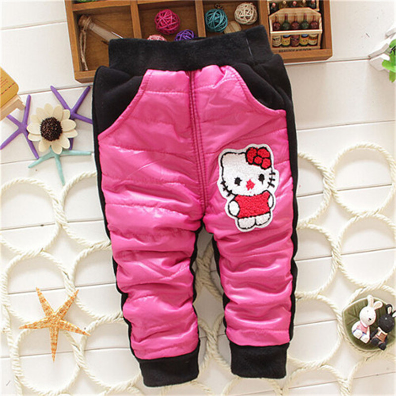 2014 new Baby girl pants winter hello kitty baby clothing for girl pants leggings cotton hot selling baby leggings winter(China (Mainland))