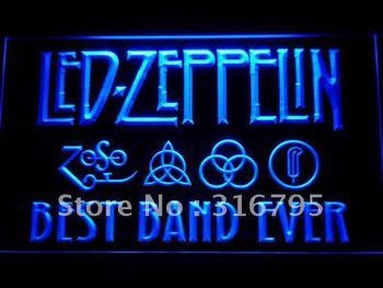 313-b Best Band Ever Led Zeppelin LED Neon Light Sign