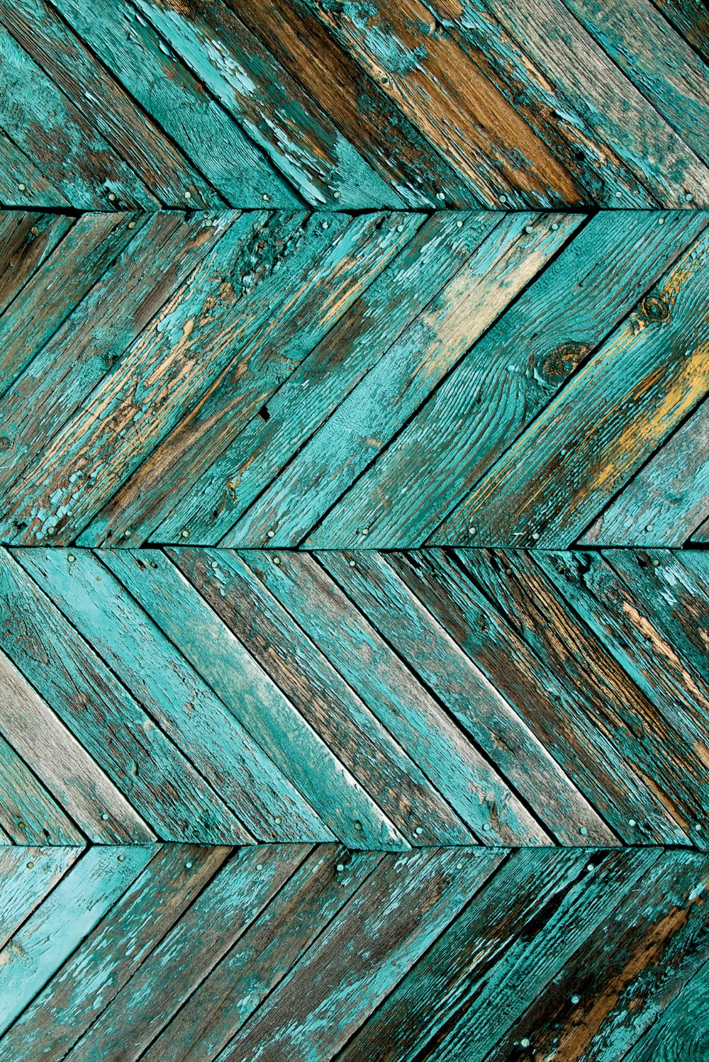 send rolled ! 8X12 turquoise Wood Backdrop - distressed peeled planks, floor - Printed Fabric Photography Background w0950<br><br>Aliexpress