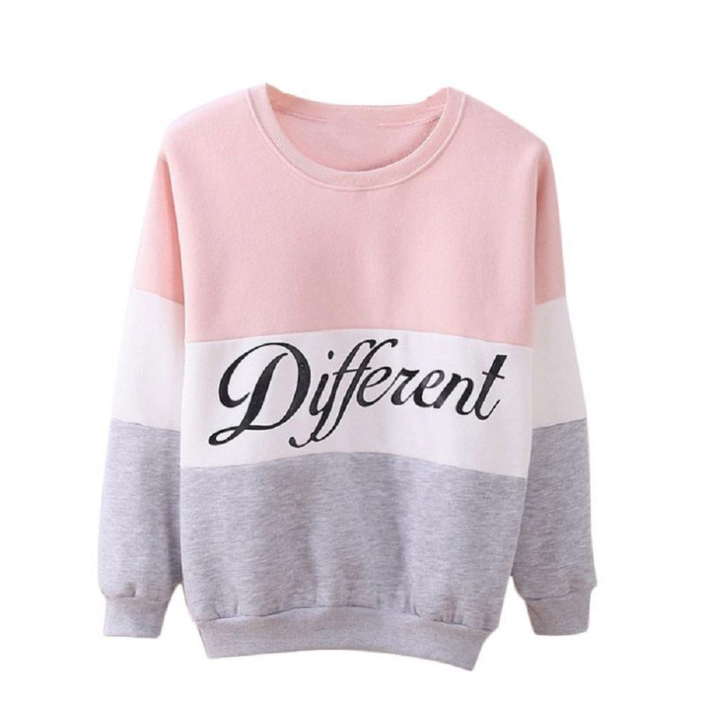 2016 New Fashion Spring Women's Casual Long-sleeved Sweatshirt Jacket Thin Section Sudaderas Mujer Harajuku Bts Hoodies