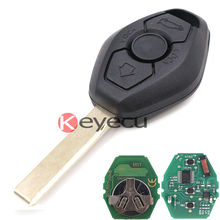 Freeshipping High Quality Keyless Entry 3 Button CAS2 Remote Key 868MHz ID7944 for BMW 1 3 5 6 Series X5(China (Mainland))