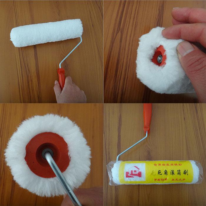 Micro Density Fiberboard ~ Inches roller brush paint lint free microfiber