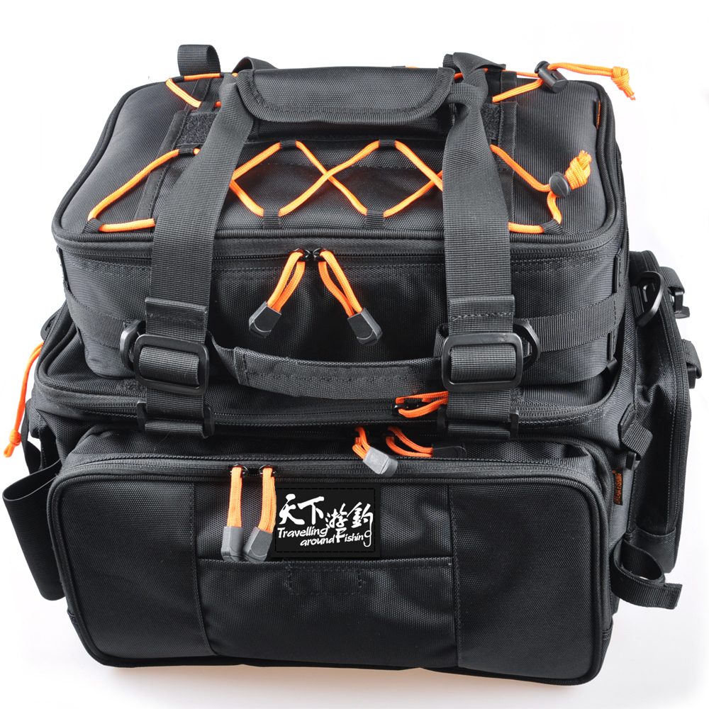 Free shipping fishing bag 2pcs48 29 22multi purpose large for Ice fishing bag