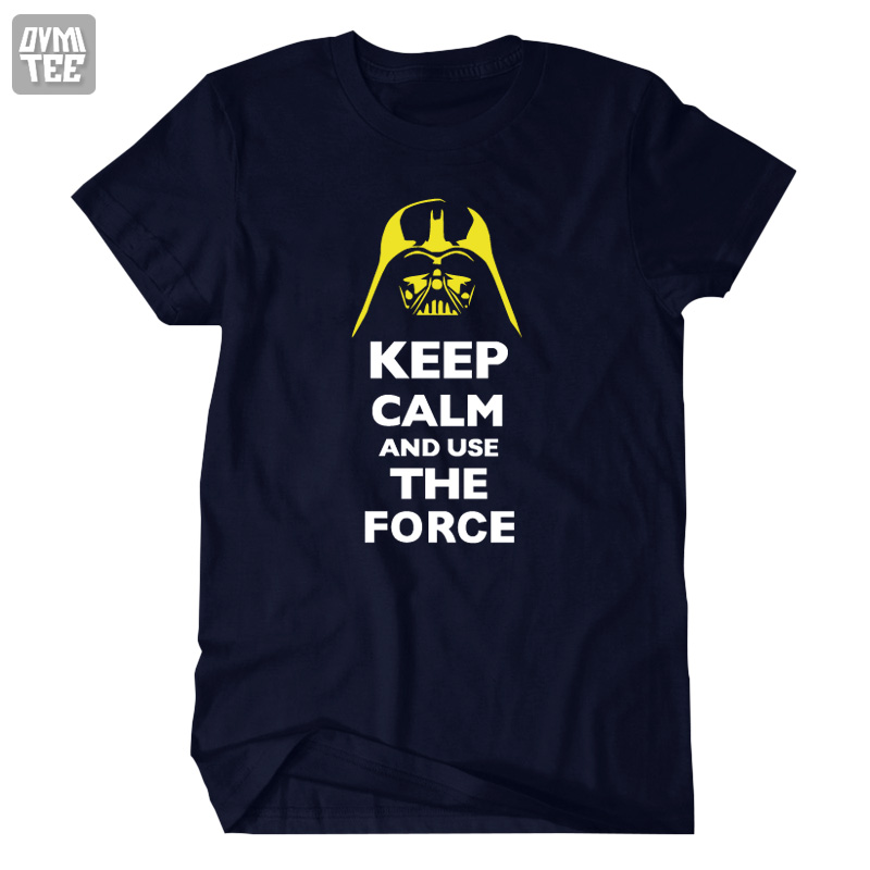 2016 new STAR WARS Costume short sleeve t shirt Jedi figure clothing keep calm and use