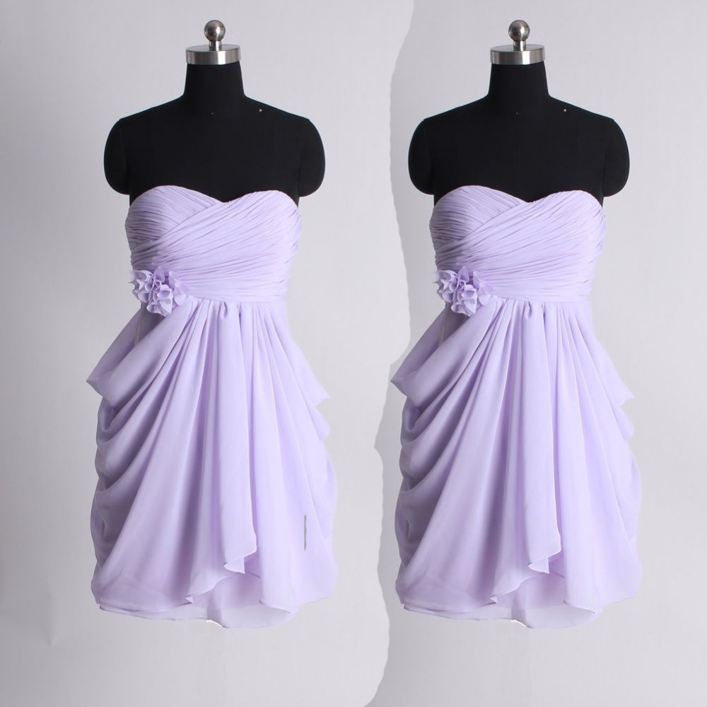 Light Purple Short Bridesmaid Dresses | Dress images