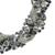 FANHUA Fashion Chains Beads and Rhinestones Decoration Choker Necklace