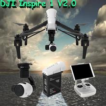 New DJI Inspire 1V2.0 Rc Quadcopter Drone with 4K Camera and 3-Axis Gimbal UAV APP Support Quadcopter vs DJI Phantom 3 Free Ship