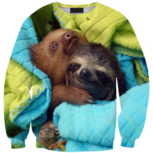 Bear Take Care Baby print sweat women&male funny cartoon animal 3D hoodie sweatshirt top dropshipping - Yiwu Seves Trade Co. Ltd store