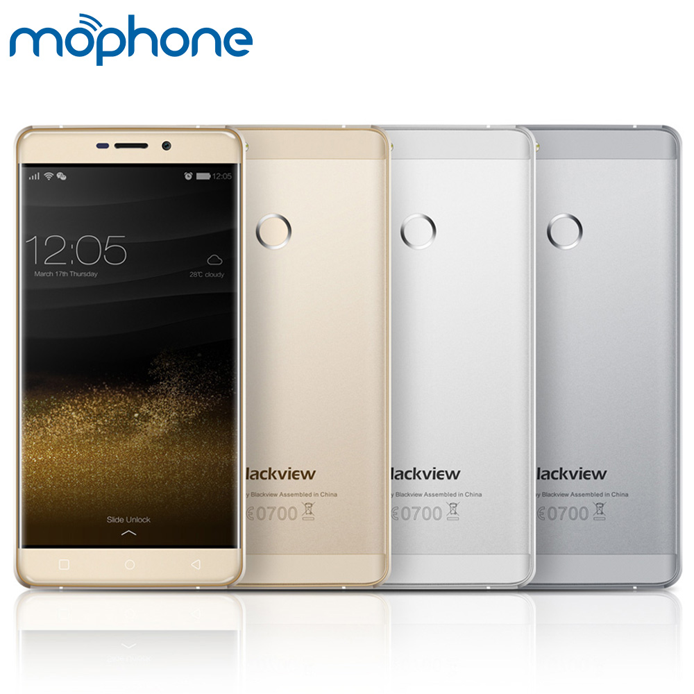 """Blackview R7 4G 5.5"""" FHD 1920*1080 mobile phone Android 6.0 4GB+32GB Octa Core MTK6755 2.0GHz 8MP 13MP FingerPrint ID Smartphone"""