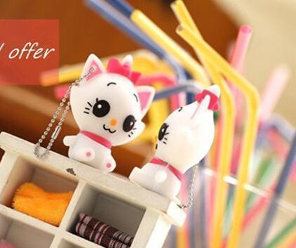 100% real capacity cheap white cat model 8GB 16GB USB Flash Drive Thumb/Car Pen drive Personality Gift S104 AA(China (Mainland))