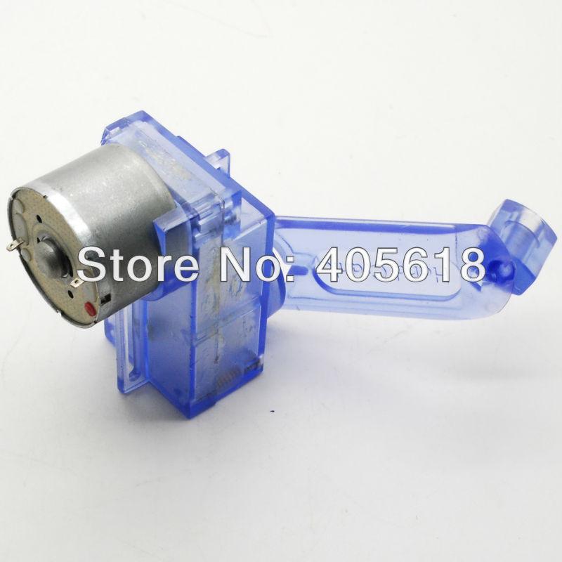 BLUE DC Hand Crank power generator motor Dynamo Green energy Assembled for fun free shipping(Hong Kong)