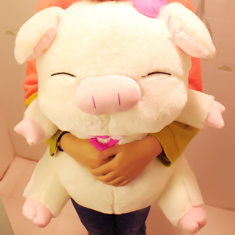 drop shipping on sale Lovely angel pig doll plush toy 40 cm cloth doll pig pillow dolls lovers  Christmas gift  new arrived<br><br>Aliexpress