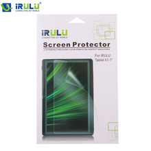 IRULU 7 inch Tablet Screen Protector Protective Film for IRULU Q8 Tablet Accessories Wholesale Pet Lots 2015 New Arrival Cheap