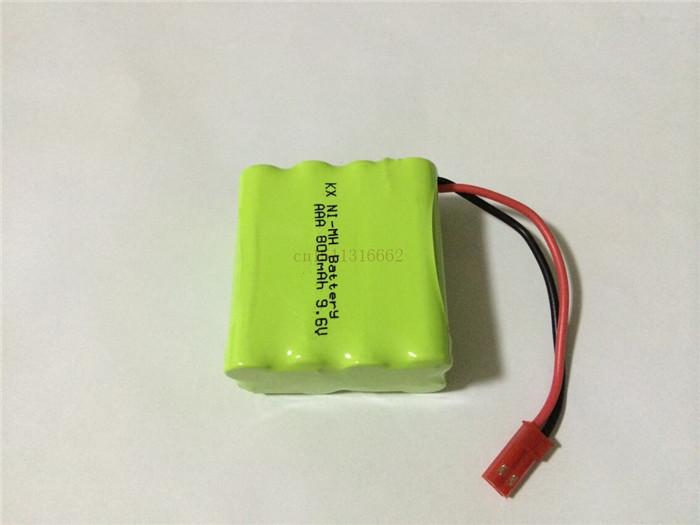 1pcs/lot Brand new 9.6V AAA 800mAh ni-mh battery pack Rechargeable batteries Free shipping(China (Mainland))