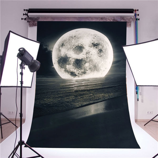 photography backdrops stand photography background photo backdrops Photo Studio retro 5x7ft moon gray sun photo props vinyl<br><br>Aliexpress