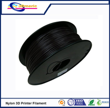 Black color PA Nylon 3D printer filament 1.75mm 3.0mm 1kg/2.2lbs Consumable Material for MakerBot RepRap UP Mendel 3D Printer