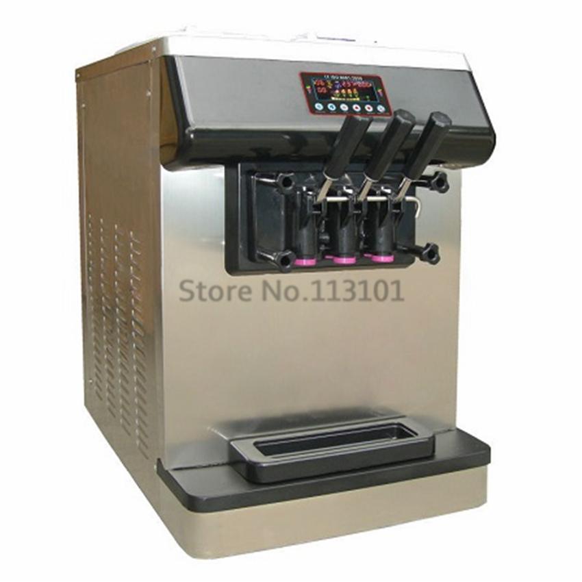 Countertop Ice Cream Maker : ... Countertop Soft Serve Machine with Cone Counter-in Ice Cream Makers