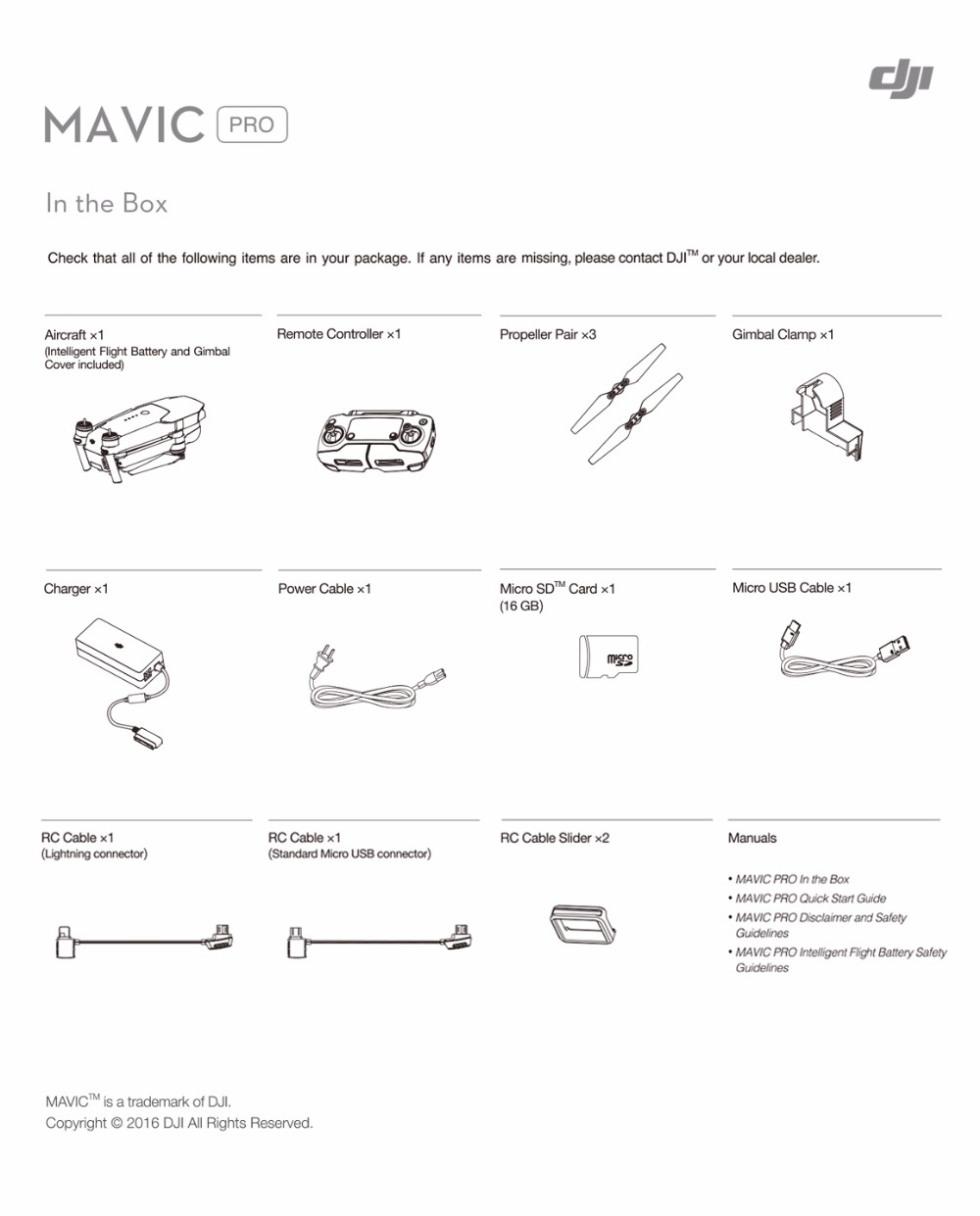 DJI New Released Items-DJI MAVIC PRO– Preordering