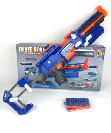 74cm Big Toy Gun Infrared Sighting Plastic Electric Nerf Arma Toys CS Game Soft Bullet Air Guns Revolver Christmas Gift - Perfect Angel House store