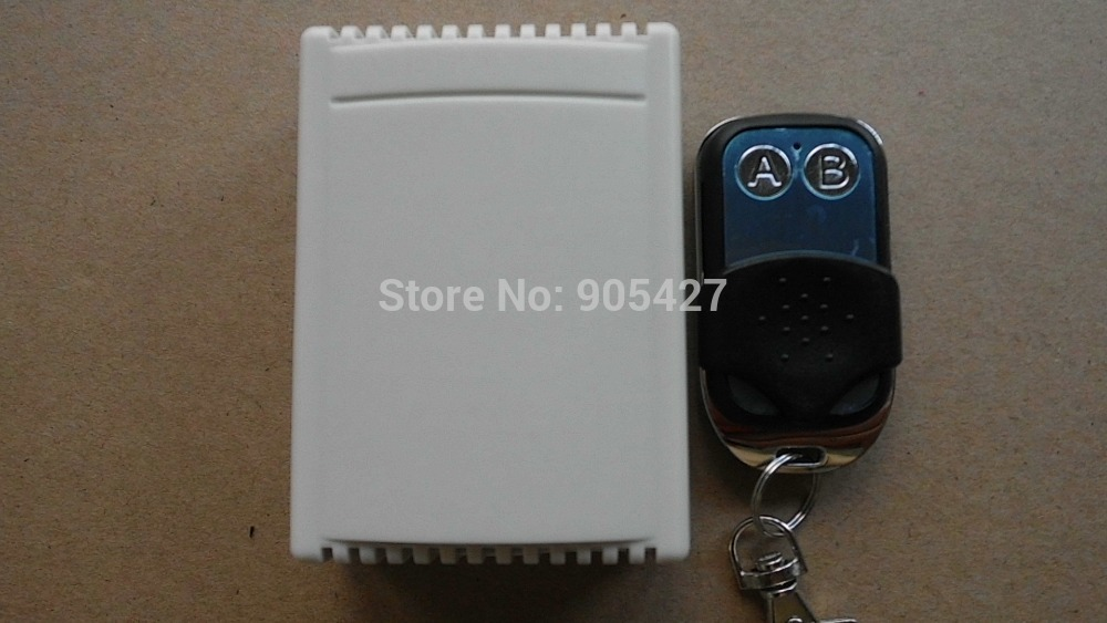 2-Channel AC85~260V 10A Wireless Remote Control Switch for Lamp,light(China (Mainland))
