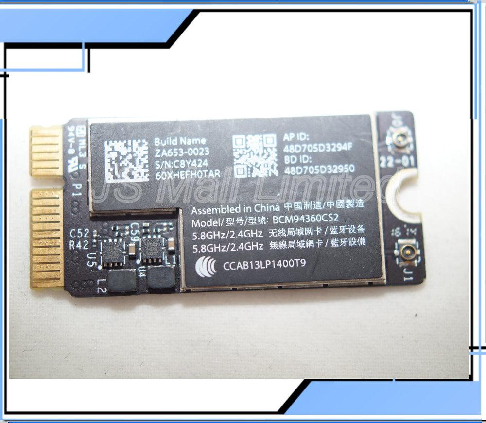 New Original BCM94360CS2 WiFi Bluetooth AirPort Card for MacBook Air A1465  A1466 2013year MD711LL/A MD760<br><br>Aliexpress