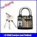 7 8 5CM black Practice Lock Locksmith Training Skill Tools professional locksmith supplies for beginner