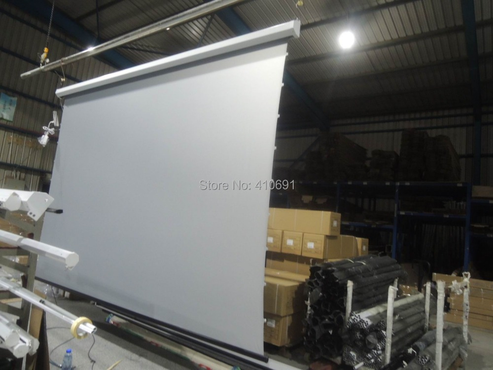 Online Buy Wholesale Motorized Screen Projector From China