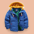 Fashion Winter Boys Jackets Thick Children Coats Zipper Hooded Kids Outwear Cotton Warm Boy Clothes Child