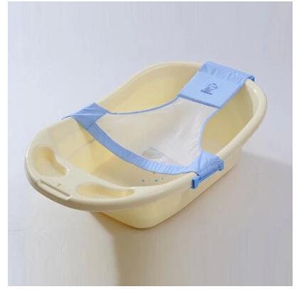 Baby kid bath bed soft slip resistant bath net mesh sling rack shower ...