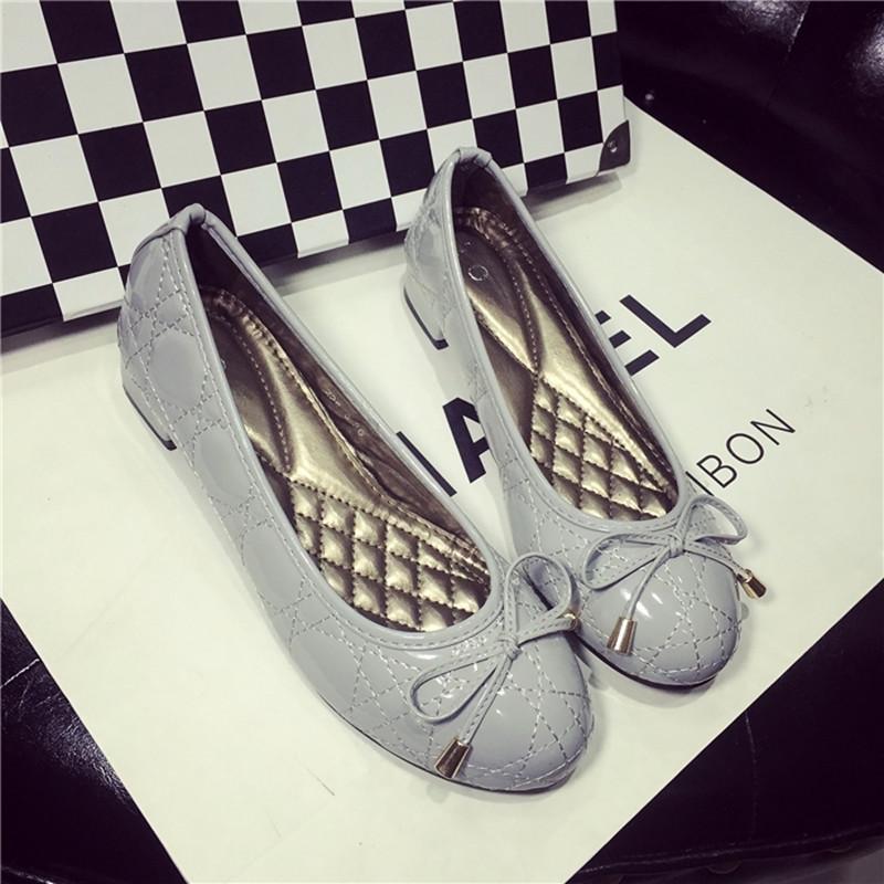 Womens Comfortable Slip-ons Flats High Quality Cheep Low Heel Designer Fashion Female Footwear Korean Style Bowtie Single Shoes<br><br>Aliexpress