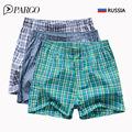 3 Pcs Lot men s underwear High Quality Brand Boxer Shorts Loose Mans Underpants Men s