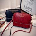 New Hot High Grade Bright Soft PU Women PU Leather Shoulder Bag Mini Shell Elegant Women