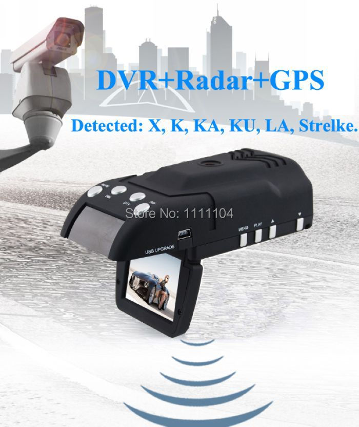 Free shipping 2inch 140deg 1500m early warning gps radar detector with car dvr camera only for Russia Help you avoid a ticket(China (Mainland))