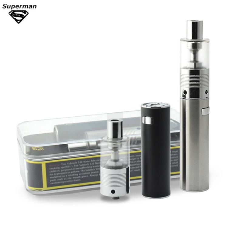 Original S30 Nano e cigarette 2000mAh 30W Vaporizer Pen with 2.0ml H9 0.5ohm atomizer Electronic Cigarette Vape Kit(China (Mainland))