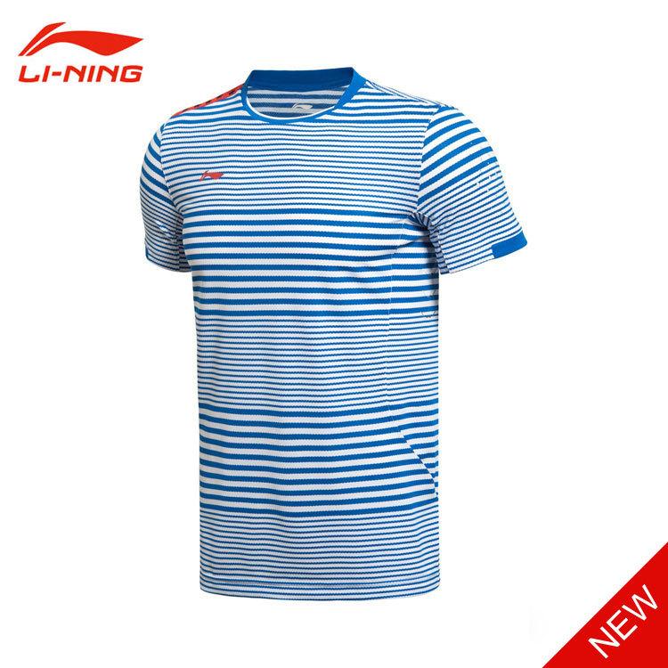 Мужская футболка Li-ning : 2015 , Li AAYK075