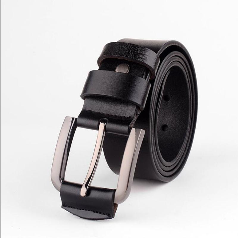 Belt Man Pin Buckle Belt Match T Shirt Polo New Design High Crafts Cowhide Leather Business Belt Free Shipping 24.8B(China (Mainland))