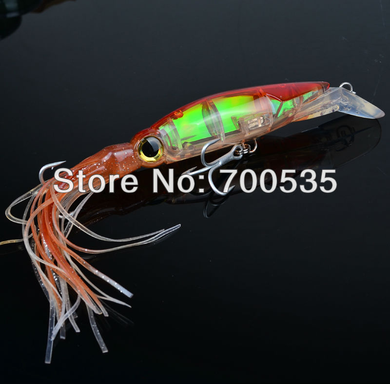 1PC New Arrival Big Game Fishing lures 14cm/40g fishing tackle 1 Color available Squid lures fishing Bait(China (Mainland))