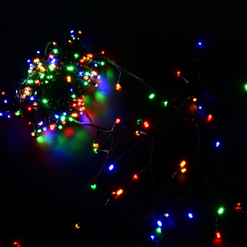 Colorful String Lights : 30M 200LEDs LED Fairy Light Christmas Outdoor Light String Colorful for Home Wedding Party DC ...