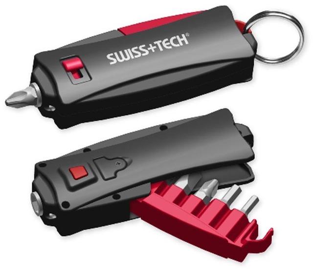 Swisstech-tool 7 1 mini multifunctional screwdriver tools key holder screwdriver set,10pcs/lot free shipping