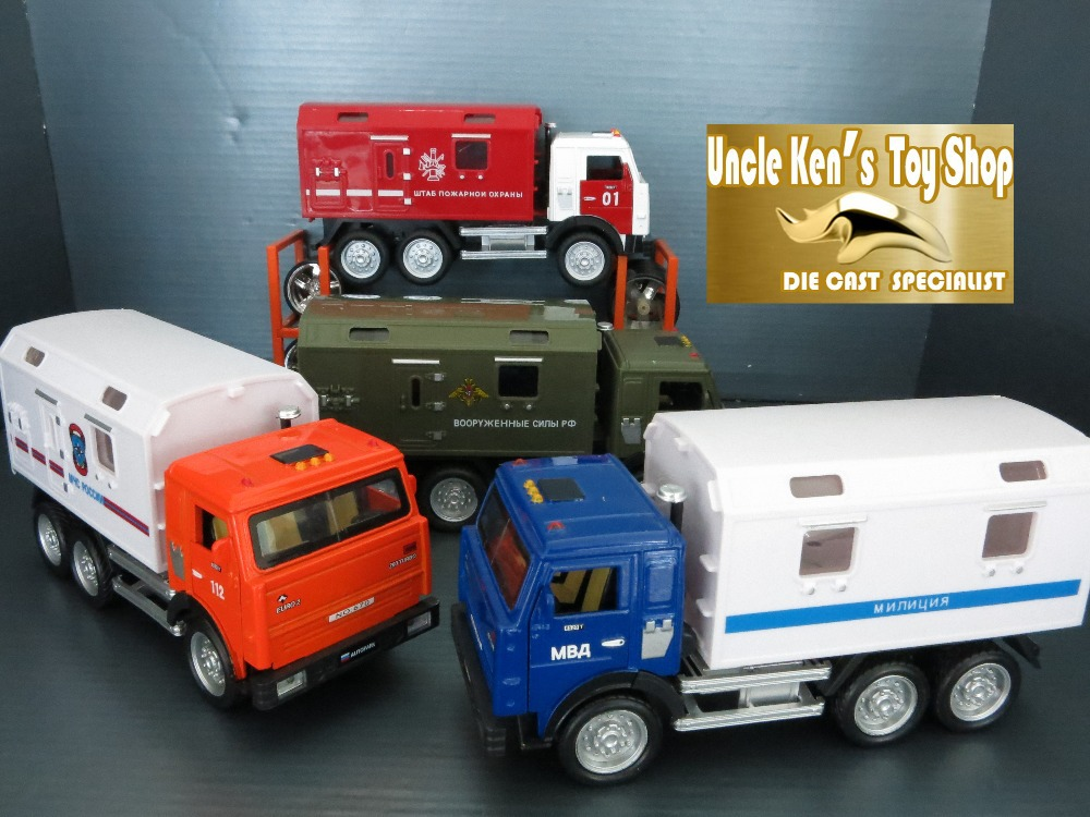 Free shipping 1:32 KAMAZ Military diecast toy truck with pull back function/music/light/Russian language for kids as gift(China (Mainland))
