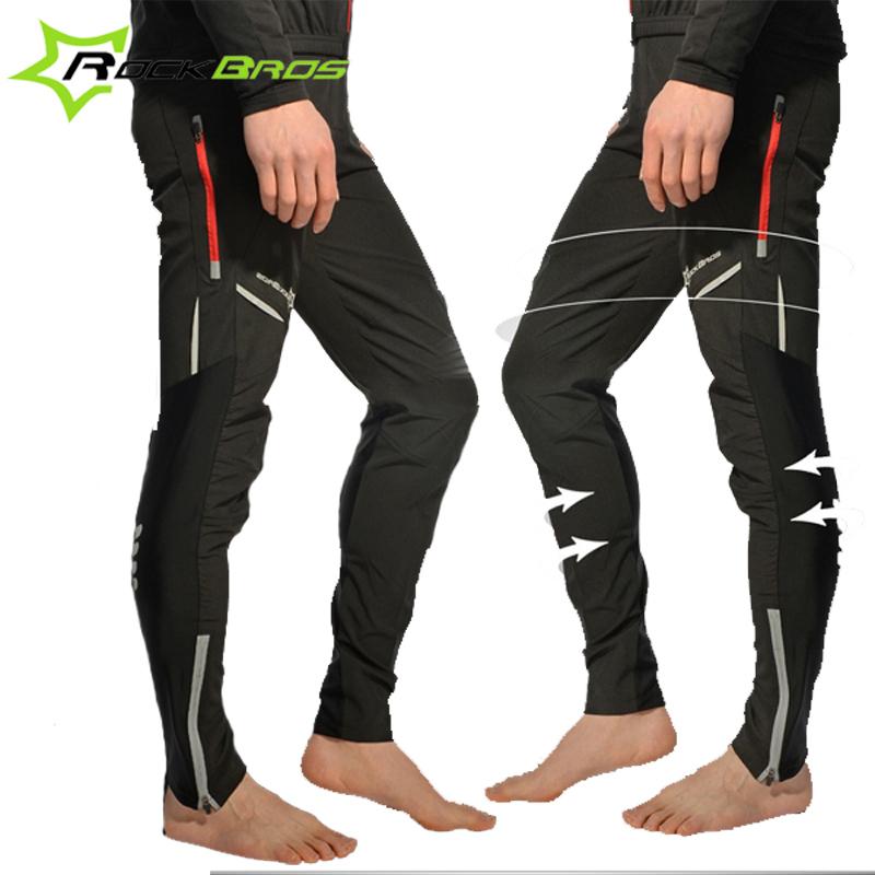 Rockbros Cycling Pants Sportswear Men & Women's Bike Cycling Riding Clothing Bicycle Pants Breathable Tight Pants Long Trousers